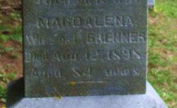 Maria Magdalena <I>Schroeder</I> Brenner