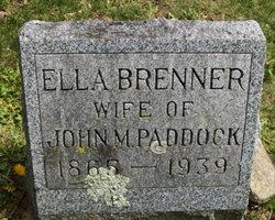 Ella <I>Brenner</I> Paddock