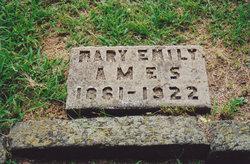 Mary Emily <I>Thurston</I> Ames