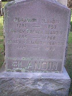 Nancy <I>French</I> Blandin