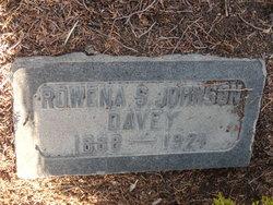Rowena Slater <I>Johnson</I> Davey