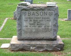 SGM George Foust Bason
