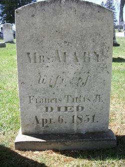 Mary <I>Parker</I> Tufts