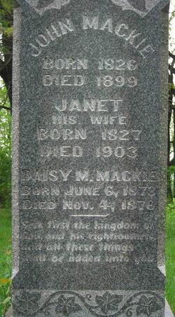 Janet <I>McFadzean</I> Mackie