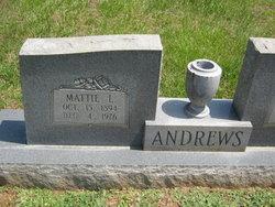 Mattie <I>Lamb</I> Andrews