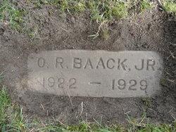 Oril Raymond Baack