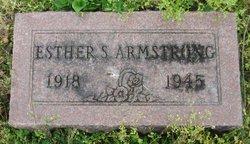 Sarah Esther <I>Loper</I> Armstrong