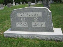 Carrie Althea <I>Davison</I> Grigsby