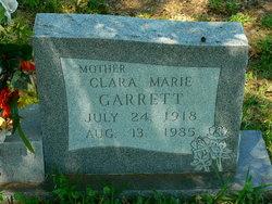 Clara Marie <I>Johnson</I> Garrett