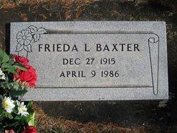 Frieda Leora <I>Madsen</I> Baxter