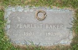 Pearle T Baker