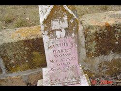 Martha Ann <I>Lynch</I> Baker