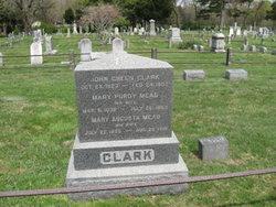 Mary Augusta <I>Mead</I> Clark