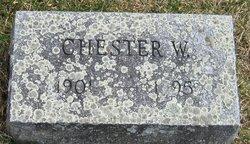 Chester W. Van Benschoten