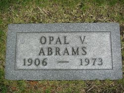 Opal V <I>McMillan</I> Abrams