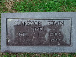 Clarence Edwin Hyde