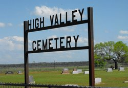 High Valley Baptist Church Cemetery