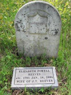 Elizabeth <I>Powell</I> Reeves