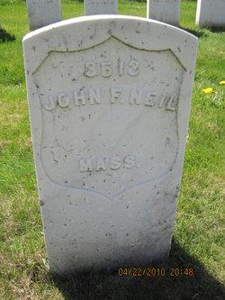 Pvt John F. Neil