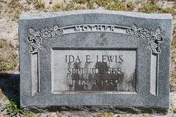 Ida Elizabeth <I>Evans</I> Lewis