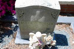 Bertie Caroline <I>Hewett</I> Turner