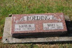 Mary Louise <I>Harmeyer</I> Boeding