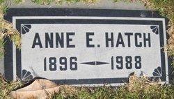 Anne E Hatch