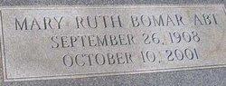 Mary Ruth <I>Bomar</I> Abt