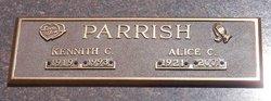 Alice C. <I>Kiskadden</I> Parrish