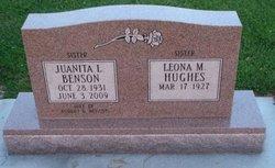 Juanita R <I>Schultz</I> Benson