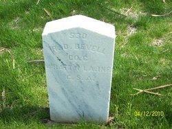 Pvt Robert D. Bevell
