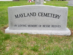 Mayland Cemetery