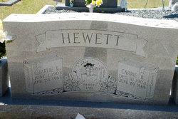 Carrie Blanche Gray <I>Hewett</I> Hewett