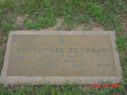 Sidney Luther Cochran