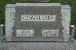 Alice Marie <I>Hart</I> Cadwalader