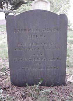 Frederic Henry Hedge, Jr