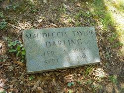 Maudeccia <I>Taylor</I> Darling