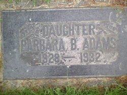 Barbara Bernice Adams