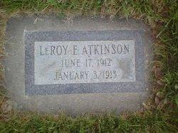 Leroy Edward Atkinson