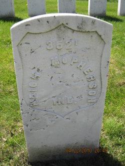 Pvt Wright McPherson