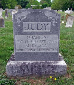 O'Banion B. Judy