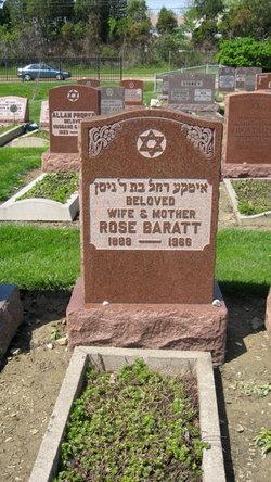 Rose <I>Berman</I> Baratt