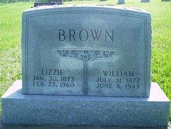 """Elizabeth Bell """"Lizzie"""" <I>Moler</I> Brown"""