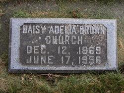 Daisy Adelia <I>Brown</I> Church