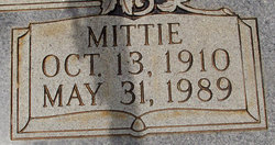 Mittie <I>Simpson</I> Flowers