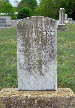 Anna E Offenbacker