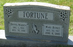 Mary <I>Burkes</I> Fortune