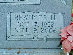 Beatrice H Holland