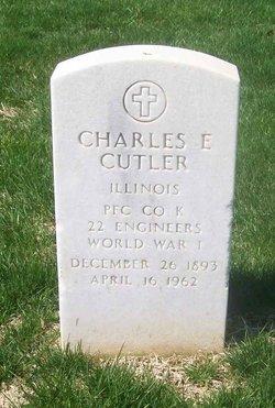 Charles E Cutler