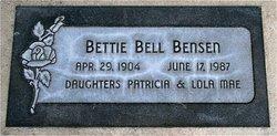 Bettie B Bensen